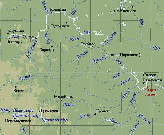 А собственно Рязань, город