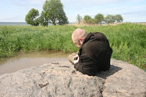Олег Давыдов на Синем камне. Ярилина плеш