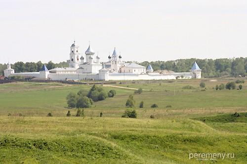 Никитский монастырь. Снимок с Ярилиной плеши