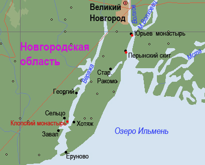 Где на карте находиться озеро ильмень на карте россии