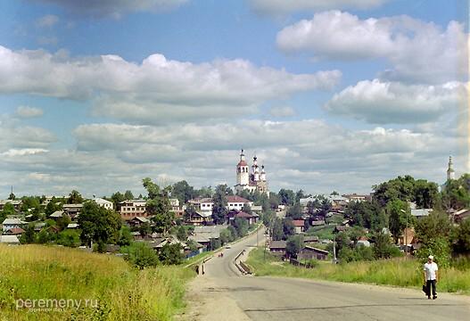 Тотьма. Фото: Олег Давыдов