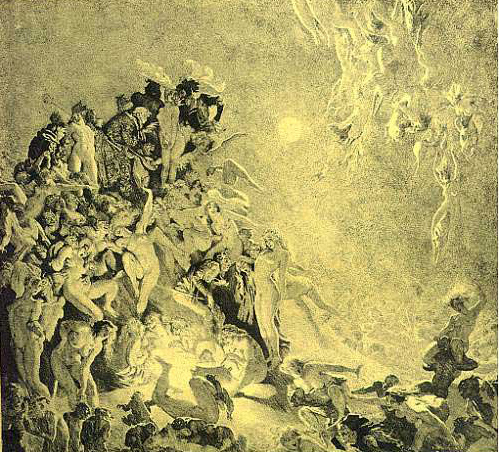 Walpurgisnacht, by Norman Lindsay