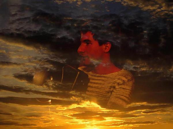Ваня в облаках. Коллаж с сайта проекта Поднебесная