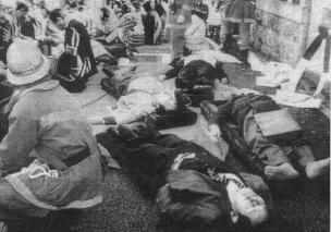 Жертвы теракта в токийском метро