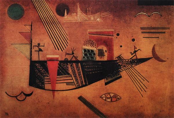 """""""Причудливое"""", 1930 г. Кандинский"""