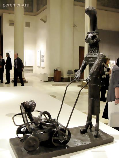 Открытие выставки Пикассо в Москве