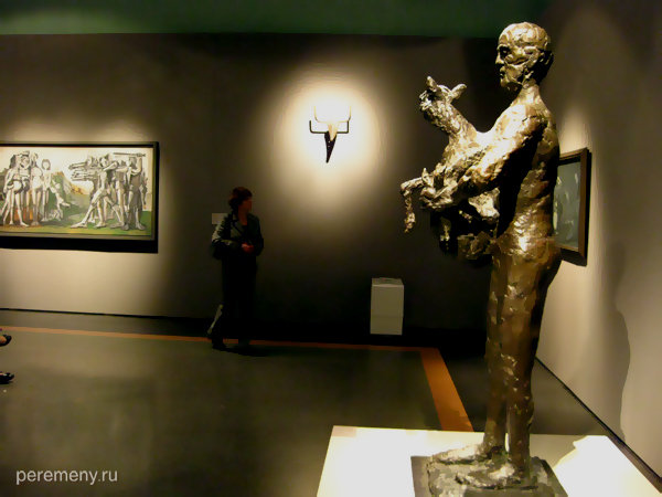 Открытие выставки Пикассо