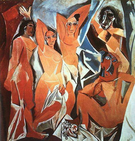 Авиньонские девицы, Пикассо