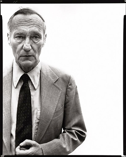 Richard Avedon, William Burroughs, writer, New York, July 9, 1975,