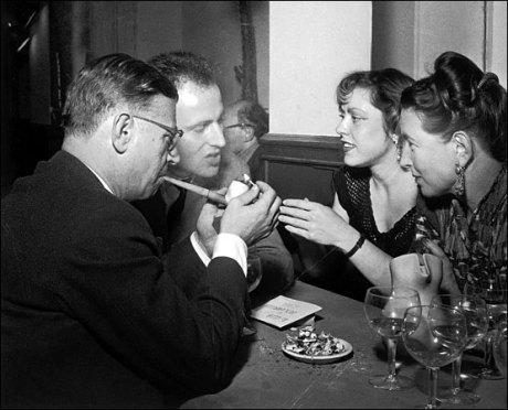 Борис Виан, Сартр и девушки