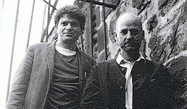 Грегори Корсо и Лоуренс Ферлингетти. Фото Morden Tower / Flickr.com