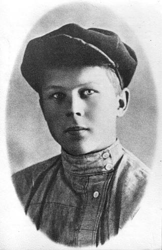 Юный Твардовский