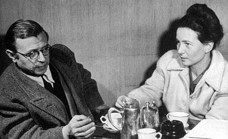 Сартр и Симона