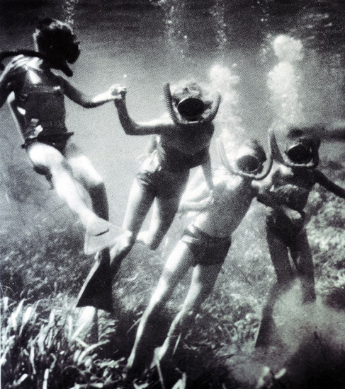 Cousteau-Family