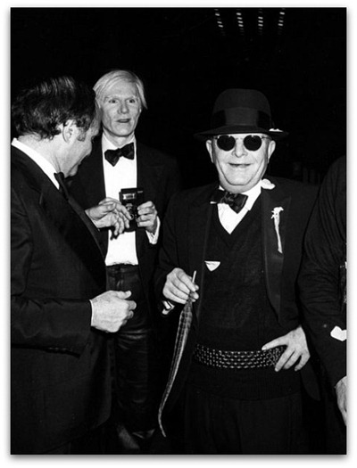 Lester Persky, Andy Warhol & Truman Capote