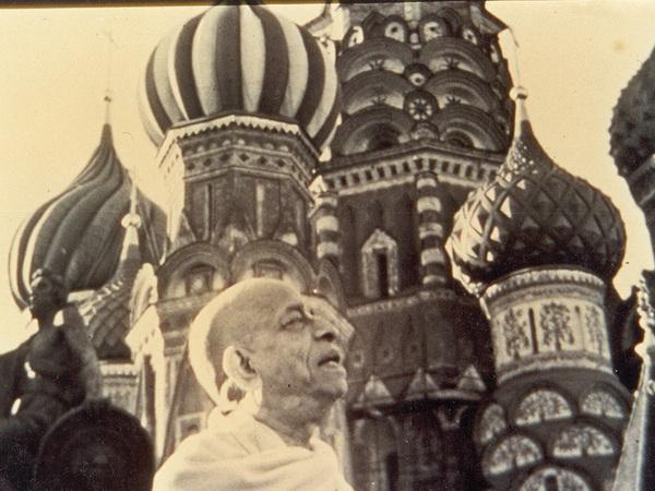 Шрила в Москве