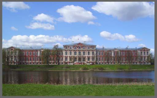 Дворец Бирона в Митаве