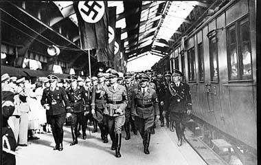Кенигсберг, вокзал, фашисты