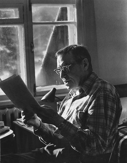 Валентин Катаев, 1960 г., фотограф - Дмитрий Бальтерманц