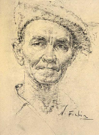 Автопортрет Николая Фешина