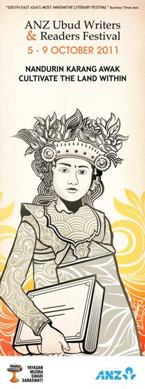 Афиша литературного фестивала на Бали