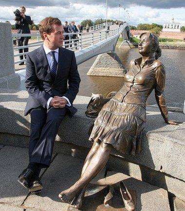 Дмитрий Медведев. Фото с одной из личных страничек президента в социальной сети ВКОНТАКТЕ