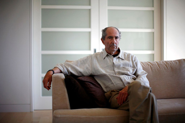 Philip Roth. Photo by Eric Thayer