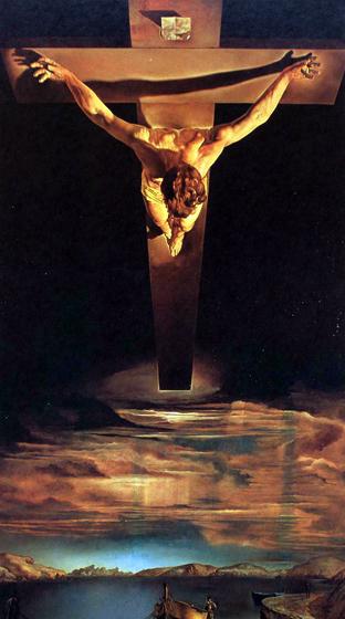 Сальвадор Дали. Христос святого Хуана де ля Крус