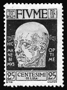 Почтовая открытка. Команданте Аннунцио