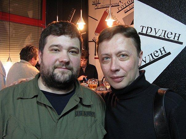 Александр Руденко и Андрей Бухарин