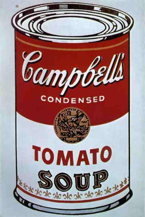 Энди Уорхолл, банка супа Campbell