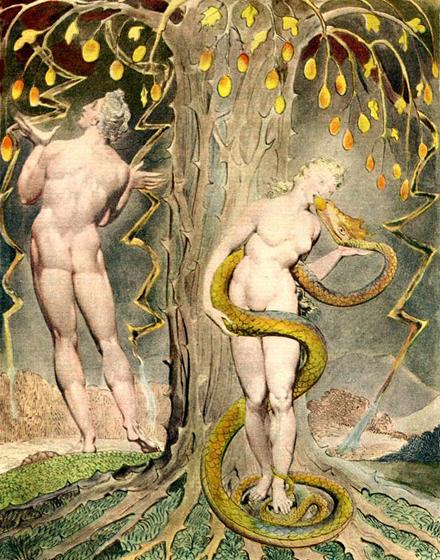 Иллюстрация к поэме Джона Мильтона Потерянный Рай, 1808