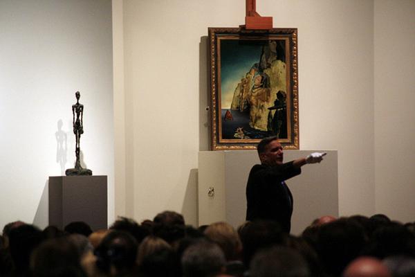 На аукционе Sothbey's, 2011 год. Фото: Judith Argila/Flickr.com