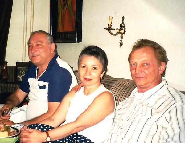 Слева направо Горенштейн, Мина Полянская, Борис Антипов. Фото: Игорь Полянский