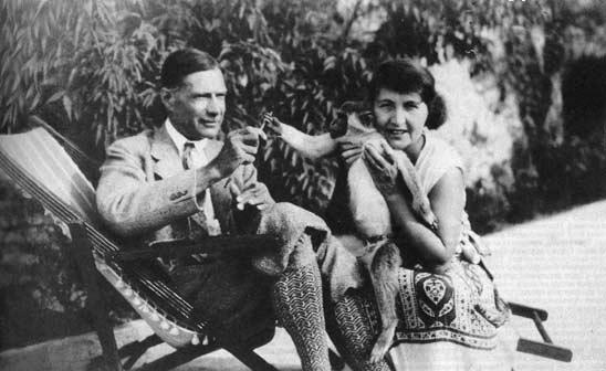 С женой, Ривьера