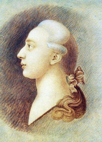 Портрет Джакомо Казановы (Франческо Казанова, ~1750 год)