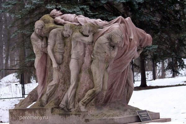 Сергей Меркуров. Похороны вождя. Фото Олега Давыдова