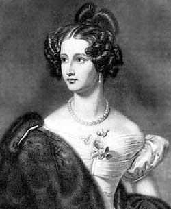 А. М. Крюденер, 1830-е годы. Художник Й. Штиллер.