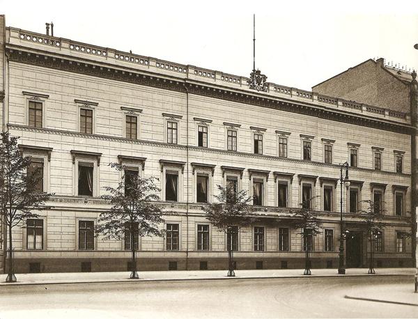 Русское посольство в Берлине до Велико Отечественной войны