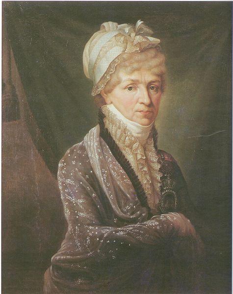 Н.Голицына. Худ. Митуар, 1810