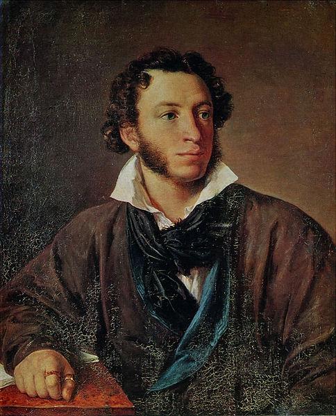 В.Тропинин. Портрет Пушкина. 1827 г.