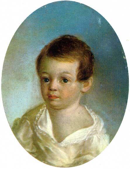 Де Местр. Пушкин-ребёнок. 1801 г.