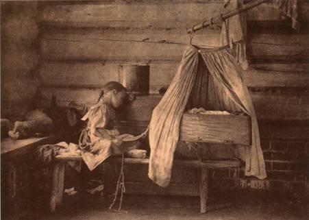 Домовница. 1910