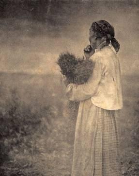 Вдовья думушка. 1907
