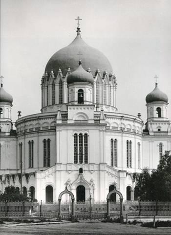 С.Лобовиков. Вятка. Александро-Невский собор. (Разрушен в 1939)