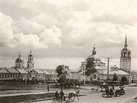 Вид Вятки. 1904