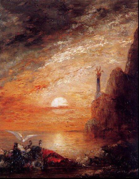 Густав Моро, 1876, Смерть Сапфо