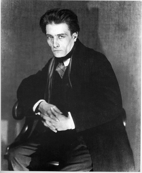 Антонен Арто в 1926-27 гг., фото Мана Рея