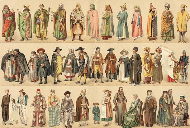 XVIII век, евреи мира