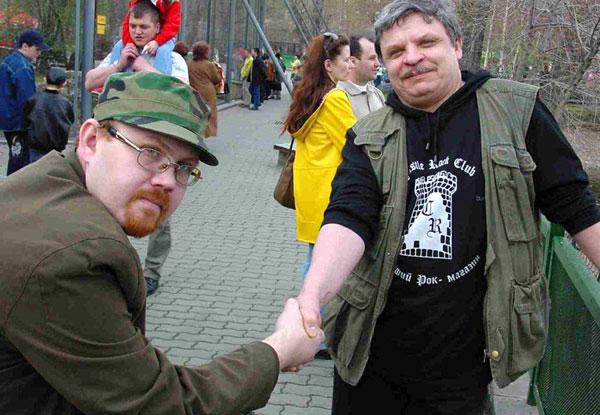 Андрей Добрынин (справа) и Константин Григорьев (слева)